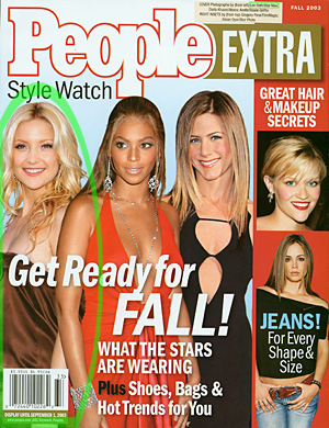Cover Photo of Kate Hudson by Lee Roth