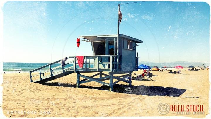 Dockweiler State Beach, Los Angeles, California