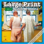 Official Avanti Large Print For Senior Moments Wall Calendar