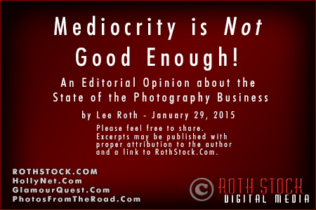 Mediocrity Is NOT Good Enough