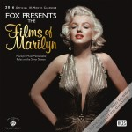 Fox Presents the Films of Marilyn Monroe Wall Calendar