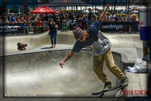 """James Halek performs at Life Rolls On """"They Will SKATE Again"""""""