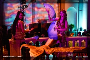 Mermaids Alisa RQ and Virginia Hankins of Sheroes Entertainment