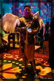 Costume Maker Alex Ferruzca attends the 18th Annual Labyrinth of Jareth Masquerade Ball