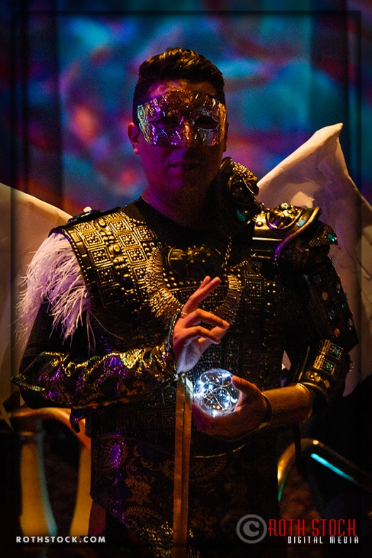 Alex Ferruzca attends the 18th Annual Labyrinth Of Jareth Masquerade Ball