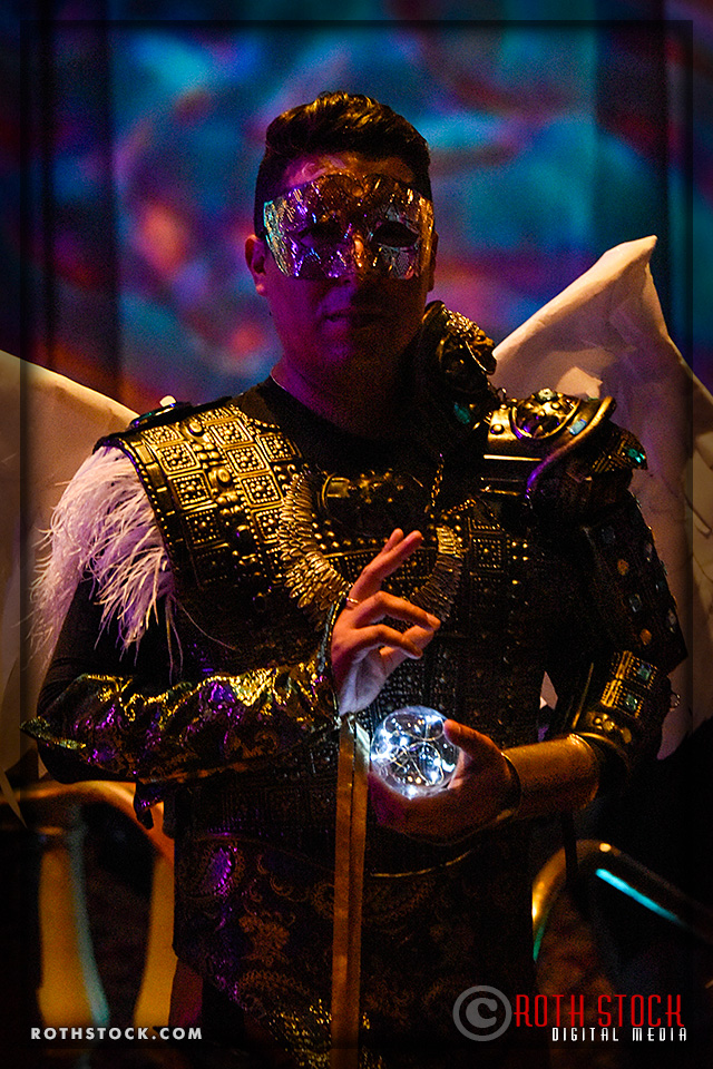 Alex Ferruzca attends the 18th Annual Labyrinth Of Jareth Masquerade Ball