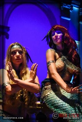 Mermaids Rachel Smith and Jennifer Elizabeth of Sheroes Entertainment