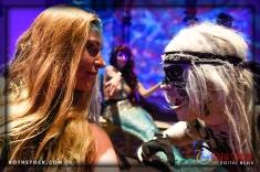 Mermaids Rachel Smith and Jennifer Elizabeth with Talisk Kevin Kelley