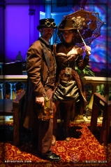 Dave and Emily Ruckman attend the 18th Annual Labyrinth of Jareth Masquerade Ball