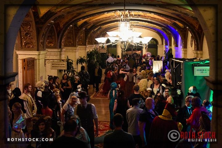 "The ""Merchant Guild"" at 18th Annual Labyrinth Of Jareth Masquerade Ball"