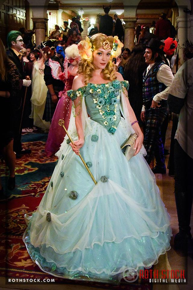 Kalinda Gray attends the 18th Annual Labyrinth Of Jareth Masquerade Ball
