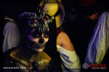 Catherine Madinger attends the 18th Annual Labyrinth Of Jareth Masquerade Ball