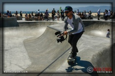 """Cameraman Sean Newhouse working at Life Rolls On """"They Will SKATE Again"""""""