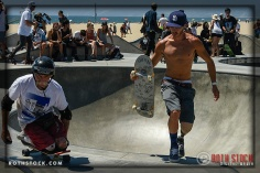 """Jesse Swalley and Mike Shea at Life Rolls On """"They Will SKATE Again"""""""