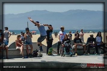 """Mike Shea performs at Life Rolls On """"They Will SKATE Again"""""""