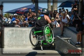 """Wheels"" performs at Life Rolls On ""They Will SKATE Again"""