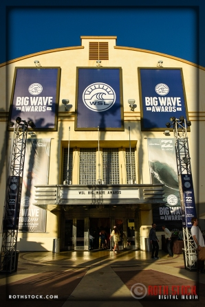 City National Grove of Anaheim Decorated for the WSL Big Surf Awards