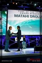 Matahi Drollet wins Tube of The Year Award