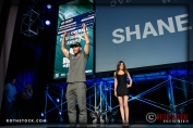 Shane Dorian accepts the Surfline Best Overall Performance Award
