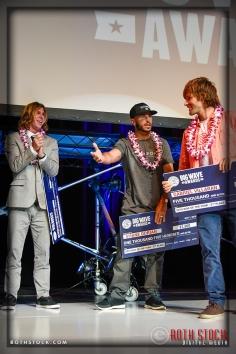 Gabriel Villaran takes 2nd place in the Billabong Ride of the Year Award