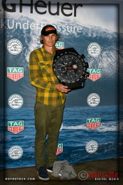 Jamie Mitchell winner of the Paddle Award