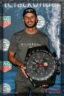 Shane Dorian wins a TAG Heuer sports watch