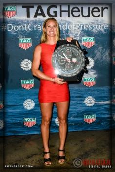 Paige Alms, winner of the Women's Best Performance Award