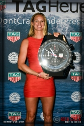 Paige Alms, winner of the Women's Best Performance Award