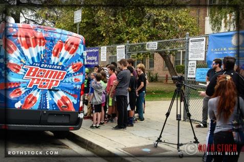 """Bomb Pop """"Behind-the-Scenes"""" / Social Media Event"""