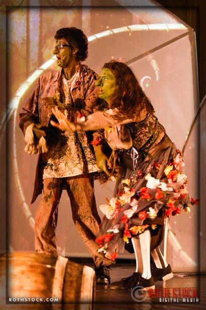Goblins Joe Filipone and Korinne Alexis Wilkening