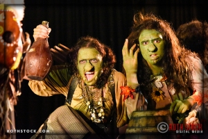 (L-R) Goblins Leanna Breauxni and Korinne Alexis Wilkening