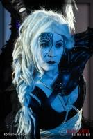 Actress Meggan Amos performs at the 18th Annual Labyrinth Of Jareth Masquerade Ball