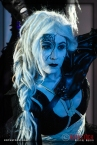 Actress Meggan Amos performs at the 18th Annual Labyrinth Of Jareth Masquerade Ball