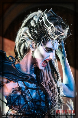 """Actress Jen Giragos as the """"Spider Queen"""" at the 18th Annual Labyrinth Of Jareth Masquerade Ball"""