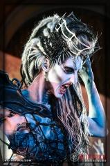 """Actress Jen Giragos portrays the """"Spider Queen"""""""