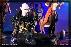 Talisk Alexander Ward performs at the 18th Annual Labyrinth Of Jareth Masquerade Ball