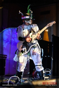 Musician Steve Abagon with The Band That Fell To Earth: A David Bowie Odyssey