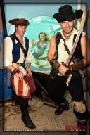 Pirate Johnny Stix, Mermaid Melody, and Pirate Matt Marsh