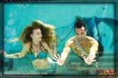 Mermaid Rachel and Merman Jax