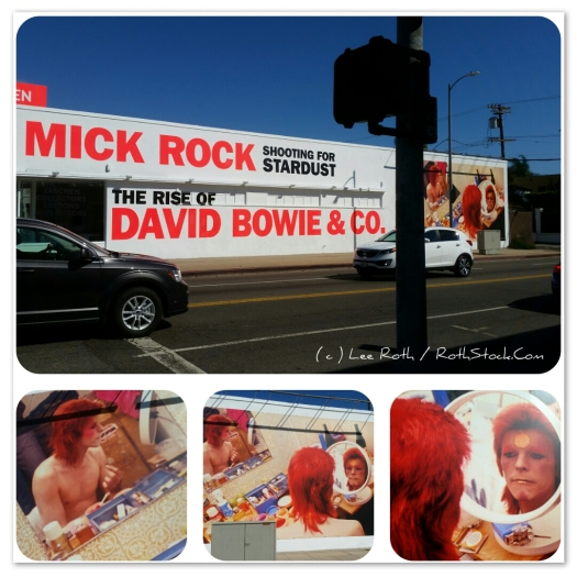 The Rise of David Bowie & Co. at the Taschen Gallery