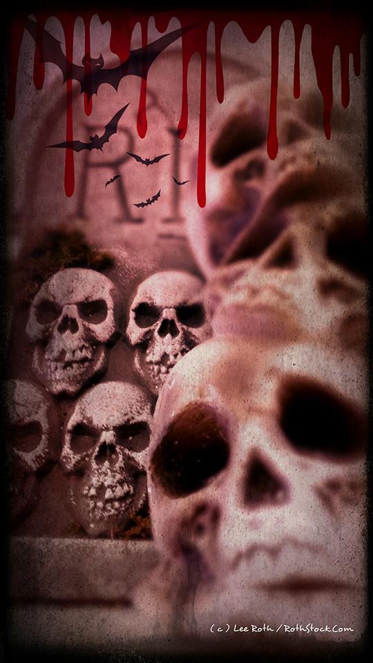 Headstones for Halloween