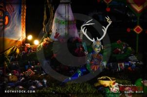 Winner of Best Contemporary Altar at Dia De Los Muertos - Shamanic Visions of the Huichol