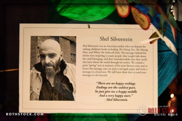 "A ""Giving Tree"" in memory of author Shel Silverstein at Shamanic Visions of the Huichol at Hollywood Forever"