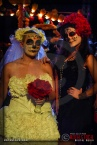 Costumed characters attend Dia De Los Muertos - Shamanic Visions of the Huichol