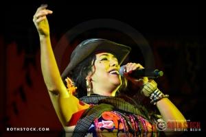 Singer/songwriter Lila Downs