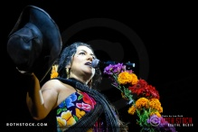 Singer/songwriter Lila Downs