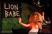 Lion Babe Performs During Full Moon Bazaar at SkyBar