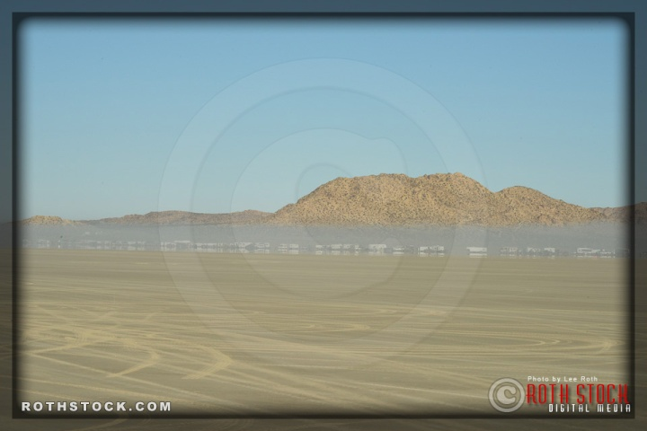 Arriving at El Mirage