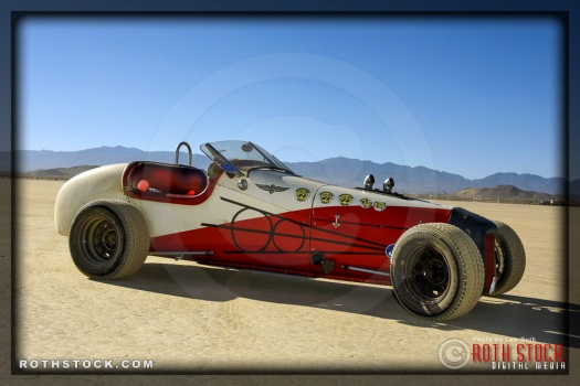 Custom roadster built by Larry Urey