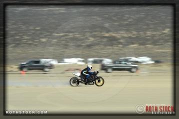 Rider: Leslie Nichols, Nichols / Hoogerhyde, 144.366 mph